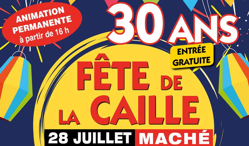 Affiche fête caille 2019