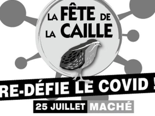 Flyer fête de la caille 2021